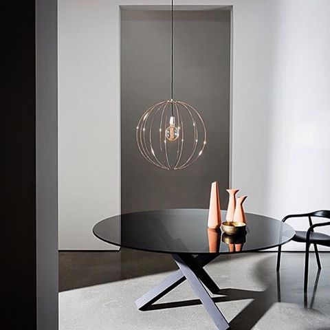 Warm up your spaces with the unique base of Aikido and the refined smoked glass top. #aki #akiagency #interiorarchitect #architect #hotelinteriordesign #luxury #interieurarchitect #decor #interior #glass http://www.sovet.com/en/tables/aikidoinfo@akiagency.nl