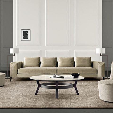Casamilano 'Royal' Armchair & 'Hamptons' sofa #casamilano #akiagency #italia #interieurarchitect #luxuryliving #luxury #interieurdesign  #interieurarchitect #salondelmobile2017 #icon #architects #milano #milaan #casamilanoshowroom #casamilanofurniture info@akiagency.nl