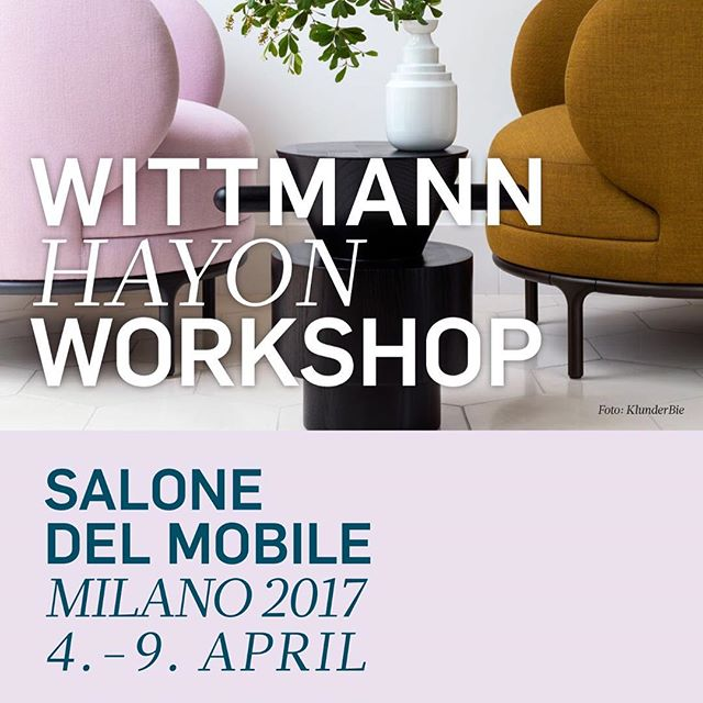 Wittmann Hayon Workshop salone del mobile Milano 2017 4.-9. aprilAKI AGENCY: visit us in hall 5, Booth C 05#wittmann #myfamily #wittmannofficial #jaimehayon #akiagency #italy #salonedelmobile2017 #milano #residencemagazine #wittmanndealer #interiordesign #interieurstyling #hotelinteriordesign #luxuryliving #luxury #instaliving #hotellobby #interieurarchitect #design info@akiagency.nl