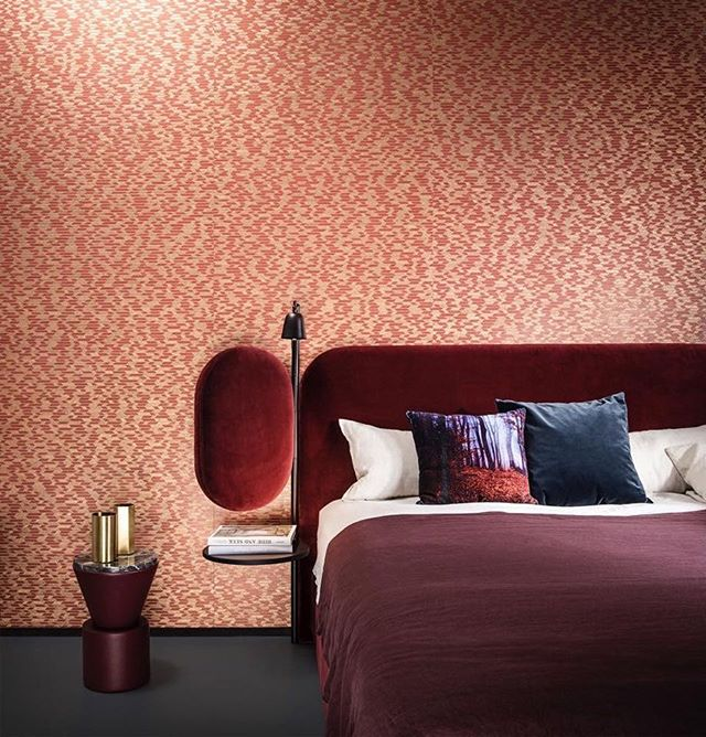 AKI | Wittmann: Perfectly matching couple ️ - WINGS BED designed by Hayon Studio together with ARTE walls .Table: Leather Side Table#wittmannhayonworkshop #wittmann #akiagency #wingsbed #arte #walls #interiordesign #hotelinteriors #bedroom #bedden #residencemagazine #interiorarchitect #interieurarchitect #architecture #aki #belgie #nederland #vienna #wittmanndealer info@akiagency.nl