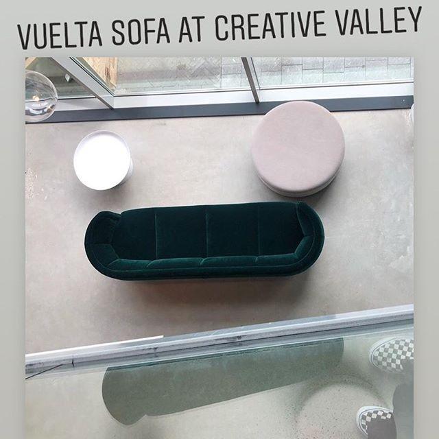 AKI | WITTMAMN: One of the Vuelta sofa's at Creative Valley Utrecht. #creativevalley #utrecht #jaimehayon #wittmannhayonworkshop #wittmann #austria #vienna #interiordesign #interieurontwerp #projectinrichting #projects #aki #agency #creative info@akiagency.nl0031-651561603