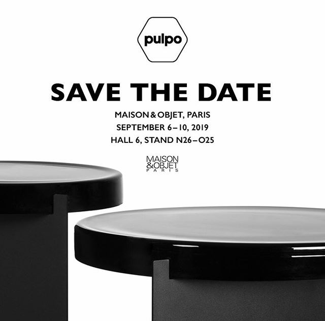 AKI | PULPO at Maison & Objet, see you :) #pulpo #akiagency #maisonenobjet #paris #parijs #designweek #interiordesign #pulpoprducts #seeyou info@akiagency.nl