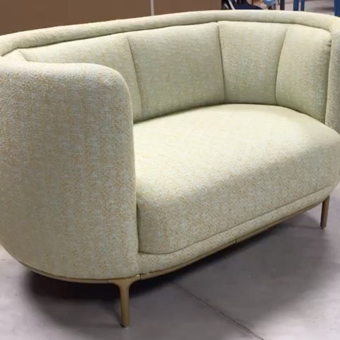 Wittmann Workshop : our production is going on, how lovely is the Vuelta 140!! Ready for delivery to a happy client!#wittmann #vuelta #happyclient #vienna #workshop #jaimehayon #akiagency #interiordesign #interieurinspiratie #interieur #bank #loveseat #wittmanndealer #hotelinterior #lobbydesign info@akiagency.nl