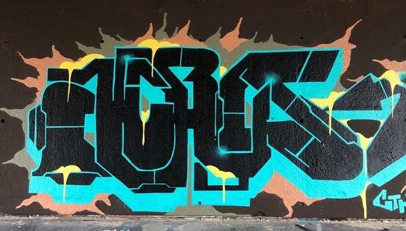 Spraycan Time #spraycan #graffiti #graffitiart #leeuwarden #montana #aki #sketching #spraypaint #weekend #streetart #oldskool